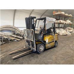 Yale Forklift -Runs Drives Lifts- (Needs Repair -Brakes Do Not Work Major Fluid Leak)
