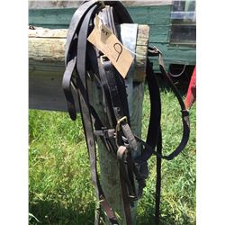 Single driving harness comes with reins,