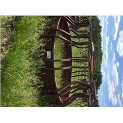 Tombstone hay feeders