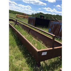 Steel 30 ft. silage feeder