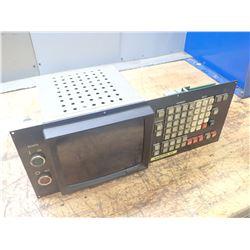 Fanuc System 6T, MDI/CRT Unit, M/N: A02B-0050-C032