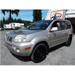 "A9 --  2006 NISSAN X-TRAIL XE , Brown , 248373  Miles ""NO RESERVE"""