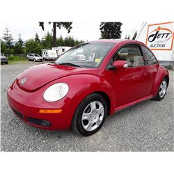 A12 --  2007 VW NEW BEETLE , Red , 236834  KM's