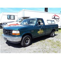 F1 --  1996 FORD F150 , Green , 344988  KM's