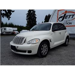 "A12F --  2006 CHRYSLER PT CRUISER , White , 174256  KM's ""NO RESERVE"""