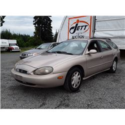 A5 --  1998 MERCURY SABLE LS , Brown , 220648  KM's