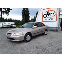 A2 --  2000 HONDA ACCORD , Brown , 265488  KM's