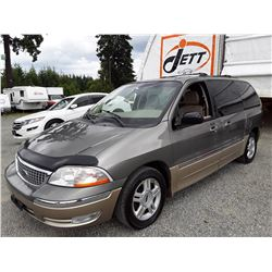 A3 --  2001 FORD WINDSTAR SEL , Green , 297448  KM's