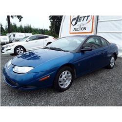 "A7 --  2002 SATURN SC1 , Blue , 163190  KM's ""NO RESERVE"""