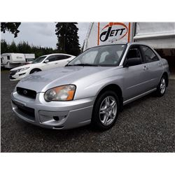 ZZ --  2004 SUBARU IMPREZA RS AWD , Silver , 261887  KM's