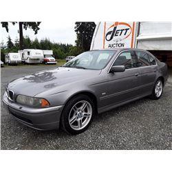 ZZ --  2003 BMW 540I , Grey , 204842  KM's
