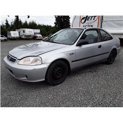 A7 --  2000 HONDA CIVIC LX , Silver , 282791  KM's