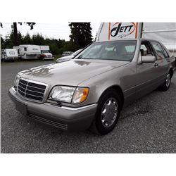 D5 --  1995 MERCEDES S500V , Brown , 195,688 MILES