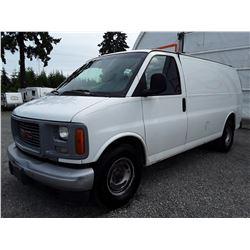F6 --  1999 GMC SAVANA , White , 247554  KM's