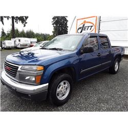 H1 --  2006 GMC CANYON , Blue , 228730  KM's