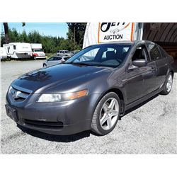 D1 --  2006 ACURA 3.2TL  , Brown , 184331  KM's