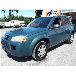 I2 --  2006 SATURN VUE  , Green , 199879  KM's