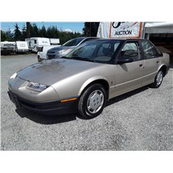 "A7 --  1993 SATURN SL1 , Brown , 174237  KM's ""NO RESERVE"""