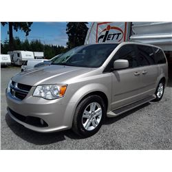 I4 --  2012 DODGE GRAND CARAVAN , Brown , 174766  KM's