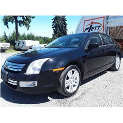 A11 --  2006 FORD FUSION SEL  , Black , 375735  KM's