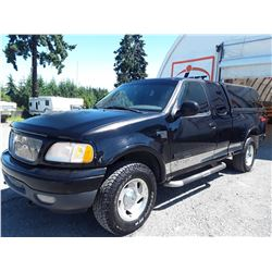 K1 --  1999 FORD F150 XLT 4X4, , Black , 274539  KM's