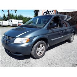 F3 --  2006 DODGE GRAND CARAVAN SE , Blue , 207318  KM's