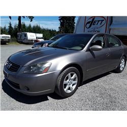 C1 --  2006 NISSAN ALTIMA S , Brown , 311675  KM's