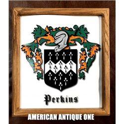 Special Custom 34cm Perkins Wooden Sign