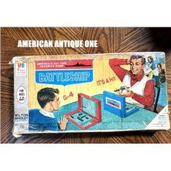 1967 Battleship Board game