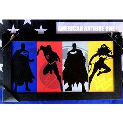 47cm Justice League DC comic Wooden Sign
