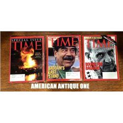 2003 TIME Magazines set of 3