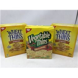 Lot of Assorted Crackers (3 x 200g)