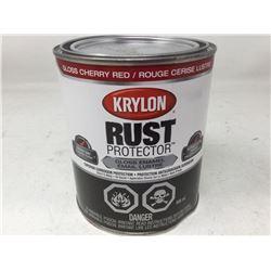 Krylon Rust Protector Gloss Enamel- Gloss Cherry Red 946ml