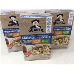 Quaker Instant Oatmeal-Variety Flavours (3 x 8pks)