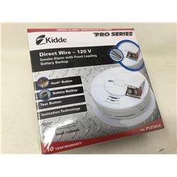 Kidde Direct Wire 120 V Smoke Alarm with Front Loading Battery Backup
