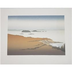 Vintage 'Cattle Point' Markgraf Serigraph Print