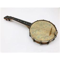 Relic Signed Banjo Collectors Piece