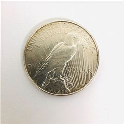 1927 Silver Peace One Dollar