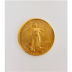 2006 Fine-Gold Eagle Five Dollars