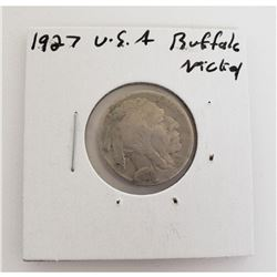 1927 US Buffalo Nickel