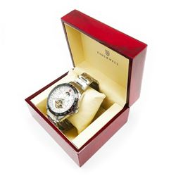 Men's Stockwell Automatic SPORT Watch With Genuine Stainless Steel Locking Clasp & Gift Box