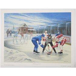 The Hockey Scouts' Painting By James Lumbers