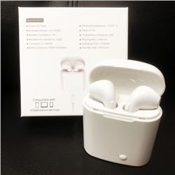 New Earbuds True Wireless Bluetooth Double Earphones With Charger & Mic