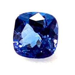 0.97ct Cushion Faceted Tanzanite Gemstone