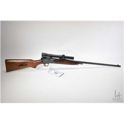 "Non-Restricted rifle Winchester model 63, .22 LR ten shot semi automatic, w/ bbl length 23"" [Blued b"