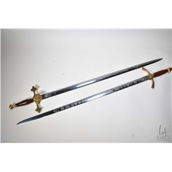 Two Royal Canadian Mounted Police swords including XI Commonwealth Wealth Games Commemorative sword