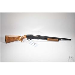 "Non-Restricted shotgun CIL model 607H, 12 gauge, 3"" three shot pump action, w/ bbl length 19 1/2"" [B"
