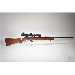 "Non-Restricted rifle Winchester model 75, 22 LR 10 bolt action, w/ bbl length 28"" [Blued barrel and"