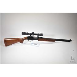 "Non-Restricted rifle Winchester model 275, 22 Win. Mag R.F pump action, w/ bbl length 20 1/2"" [Blued"