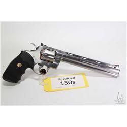 Restricted handgun Colt model Python (1992), .357 magnum six shot double action revolver, w/ bbl len